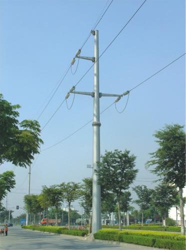 电力钢管杆110kv系列