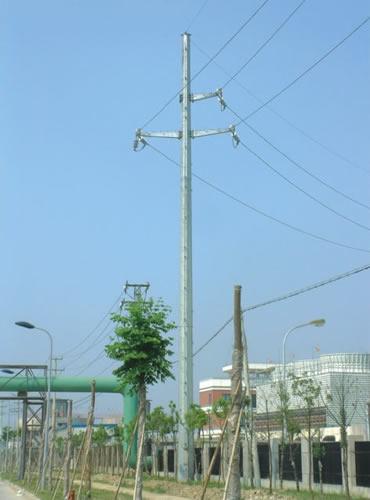 电力钢管杆35kv系列